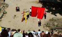 Bergtheater Thale: Ein Sommernachtstraum (3. Akt, 1. Szene: Puck treibt seinen Schabernack mit den Handwerkern)