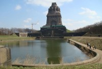Das Völkerschlachtdenkmal zu Leipzig