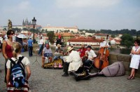 Karlsbrücke in Prag (CZ) I