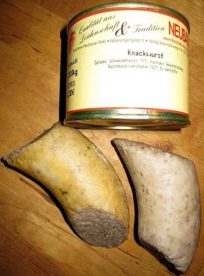 Braunschweiger Knackwurst
