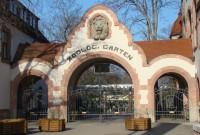 Zoo Leipzig - der Haupteingang