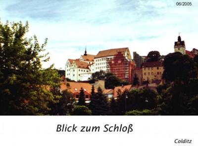 Das Schloß Colditz - ein Denkmal der besonderen Art