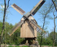 Die Bockwindmühle von Krosigk
