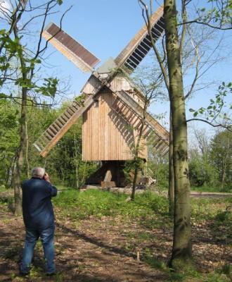 Die Bockwindmühle von Krosigk (ST)