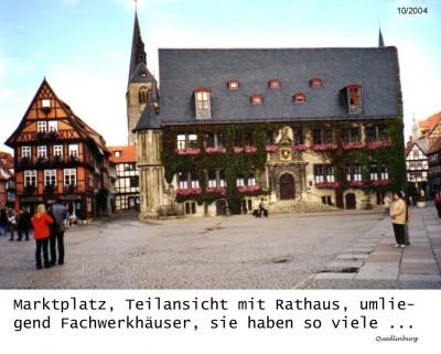 Quedlinburg - die Welterbestadt