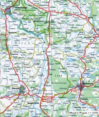 Altmark, geografisch